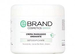 Духи, Парфюмерия, косметика Дренирующий массажный крем - Ebrand Crema Massaggio Drenante