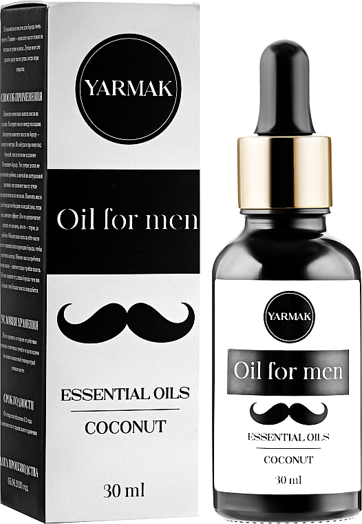 Масло для бороды - Yarmak Essential Oils