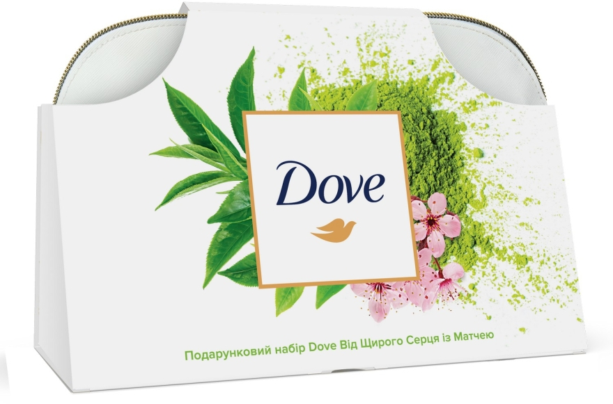 Подарочный набор - Dove (shm/250ml+balm/250ml+deo/50ml+h/cr/75ml+bag)