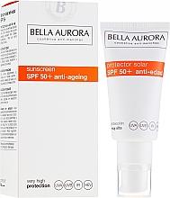 Духи, Парфюмерия, косметика Солнцезащитный крем - Bella Aurora Solar Protector Anti-Age SPF50+