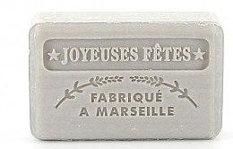 """Духи, Парфюмерия, косметика Марсельское мыло """"Счастливого Рождества"""" - Foufour Argent Savonnette Marseillaise Joyeuses Fetes"""