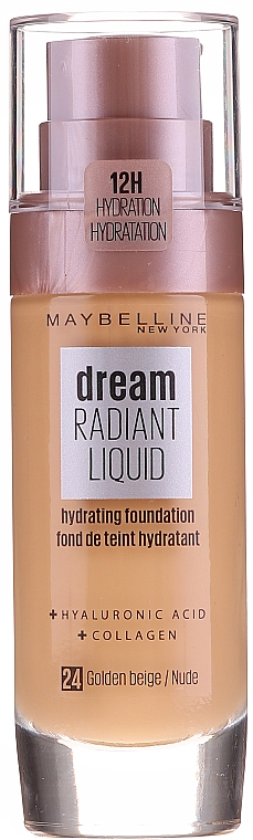 Основа для макияжа - Maybelline New York Dream Radiant Liquid Hydrating Foundation