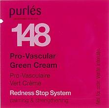 Духи, Парфюмерия, косметика Зелёный крем - Purles Redness Stop System Pro-Vascular Green Cream 148 (пробник)