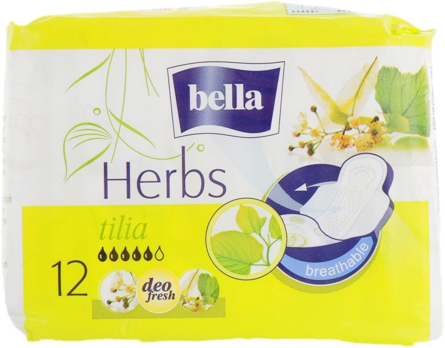 Прокладки Panty Herbs Tilia, 12 шт. - Bella