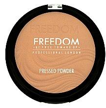Духи, Парфюмерия, косметика Пудра пресованная - Freedom Makeup London Pressed Powder
