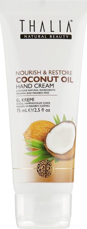 Питательный крем для рук с кокосовым маслом - Thalia Coconut Oil Hand Cream