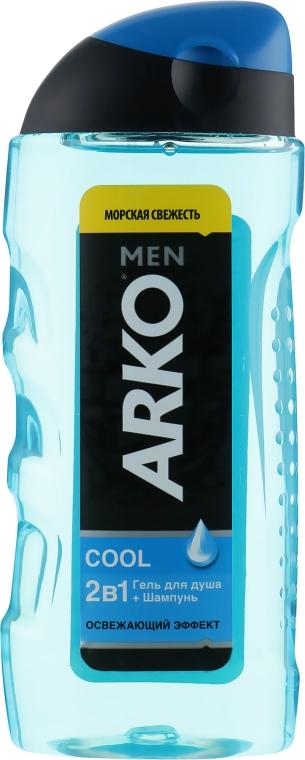 Гель для душа 2в1 - Arko Men Cool