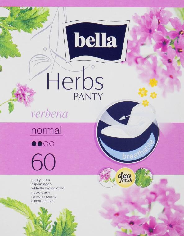 Прокладки Panty Herbs Verbena, 60шт - Bella