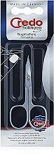 Духи, Парфюмерия, косметика Маникюрные ножницы хромированные 8 см, 08018 - Credo Solingen