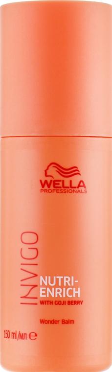 Чудо-бальзам с ягодами годжи - Wella Professionals Invigo Nutri-Enrich Wonder Balm