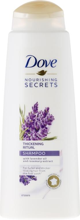 "Шампунь для волос ""Лаванда"" - Dove Thickening Ritual Shampoo Lavender"