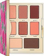 Набор - Tarte Cosmetics Flawles On The Fly (eyeshadow/6x1.1g/2x1.8g+mascara/4ml) — фото N3