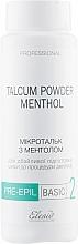 Духи, Парфюмерия, косметика Микротальк с ментолом для тела - Elenis Pre-Epil Talcum Powder Menthol