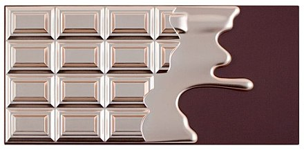 Палетка теней для век, 16 оттенков - Makeup Revolution I Heart Makeup Chocolate Elixir Palette