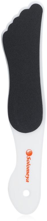 Пилка для педикюра двухсторонняя, 80/120 грит - Solomeya