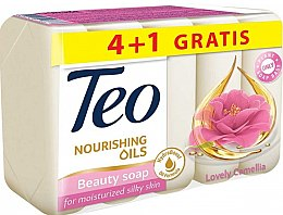 Духи, Парфюмерия, косметика Туалетное мыло - Teo Nourishing Oils Lovely Camellia