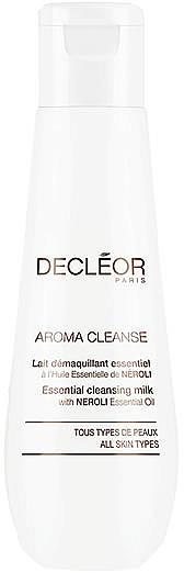 Молочко очищающее эссенциальное для лица и век - Decleor Aroma Cleanse Essential Cleansing Milk