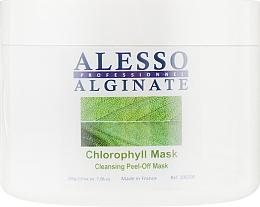 Духи, Парфюмерия, косметика Маска для лица альгинатная очищающая с хлорофилом - Alesso Professionnel Alginate Chlorophyll Peel-Off Cleansing Mask