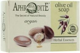 Духи, Парфюмерия, косметика Оливковое мыло с арганой - Aphrodite Olive Oil Soap With Argan