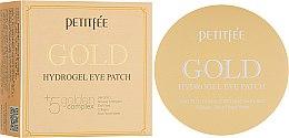 Духи, Парфюмерия, косметика Гидрогелевые патчи для глаз с золотым комплексом +5 - Petitfee&Koelf Gold Hydrogel Eye Patch