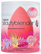 Духи, Парфюмерия, косметика Двусторонний спонж для идеального нанесения макияжа - Beautyblender Beauty Blusher Sponge Cheeky