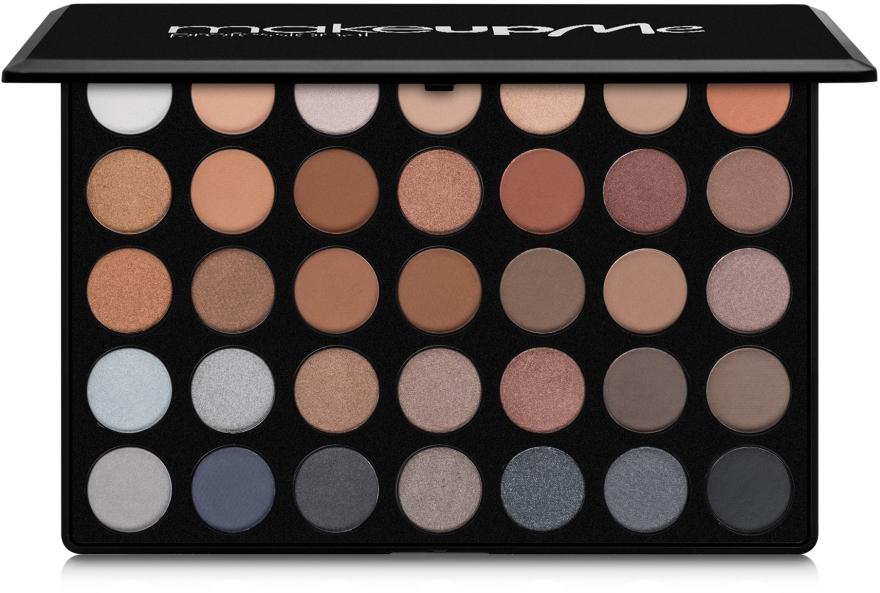 Профессиональная палитра теней 35 цветов, C35 - Make Up Me