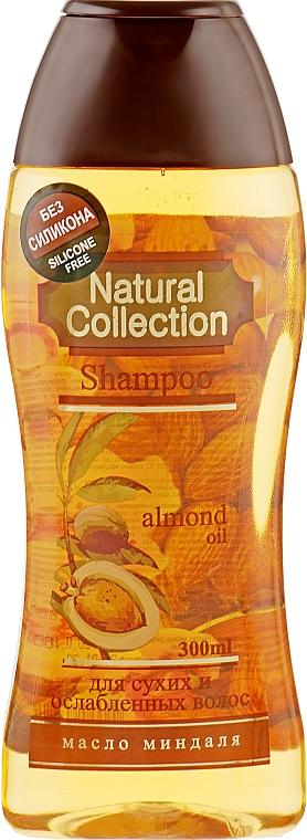Шампунь для волос с миндальным маслом - Pirana Natural Collection Shampoo