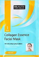 Духи, Парфюмерия, косметика Тканевая маска для лица - Beauty Formulas Collagen Essence Facial Mask