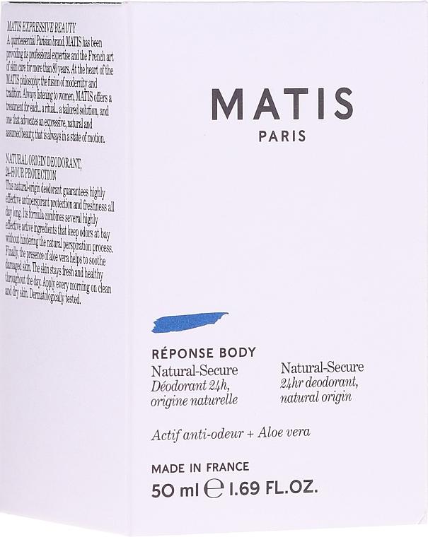 Дезодорант - Matis Reponse Body Deodorant