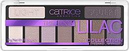 Палетка теней для век - Catrice The Edgy Lilac Collection Eyeshadow Palette — фото N1
