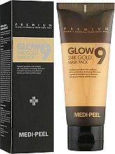 Духи, Парфюмерия, косметика Золотая маска-пленка - Medi Peel Glow 9 24K Gold Mask Pack