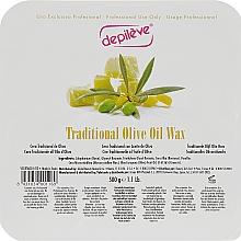 Традиційний Оливковий віск - Depileve Traditional Olive oil wax — фото N1