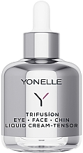 Духи, Парфюмерия, косметика Жидкий крем-лифтинг - Yonelle Trifusion Eye-Face-Chin Liquid Cream Tensor