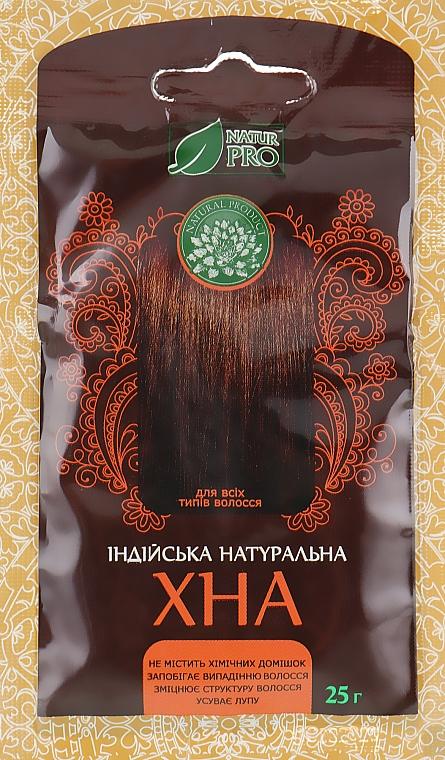 Хна для волос индийская натуральная - NaturPro