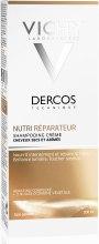 Питательно-восстанавливающий шампунь-крем для сухих и поврежденных волос - Vichy Dercos Nutri Reparative Cream Shampoo — фото N2