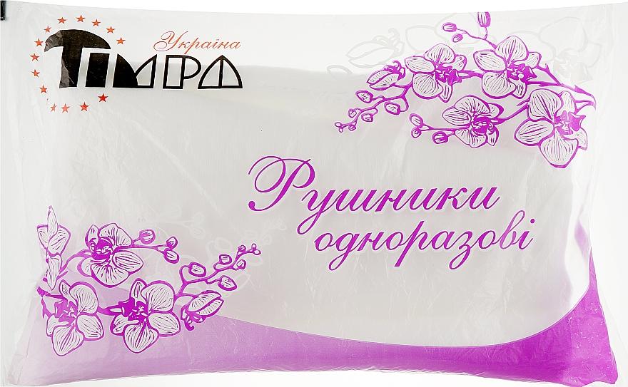Полотенца нарез из спанлейса 25х40 см, 50 шт, белая сетка - Timpa Украина