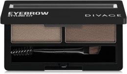 Духи, Парфюмерия, косметика Набор для моделирования бровей - Divage Eyebrow Styling Kit