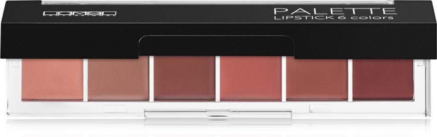 Палетка помад для губ - Lamel Professional Palette Lipstick