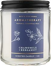 "Духи, Парфюмерия, косметика Аромасвеча ""Chamomile + Bergamot"" - Bath and Body Works"