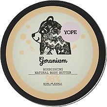 """Духи, Парфюмерия, косметика Масло для тела """"Герань"""" - Yope Geranium Body Butter"""