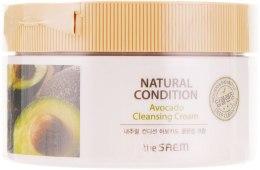 Духи, Парфюмерия, косметика Крем для очищения кожи с авокадо - The Saem Natural Condition Avocado Cleansing Cream
