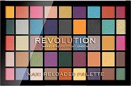 Духи, Парфюмерия, косметика Палетка теней для век, 45 оттенков - Makeup Revolution Maxi Reloaded Palette