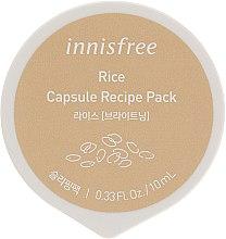 Духи, Парфюмерия, косметика Мини-маска на основе экстракта риса - Innisfree Capsule Recipe Pack Rice