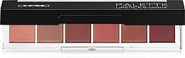 Духи, Парфюмерия, косметика Палетка помад для губ - Lamel Professional Palette Lipstick