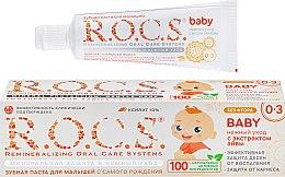 """Духи, Парфюмерия, косметика Зубная паста для детей """"Нежный уход с экстрактом айвы"""" - R.O.C.S. Baby"""