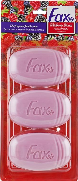 """Туалетное мыло """"Лесные ягоды"""" - Fax Soap"""
