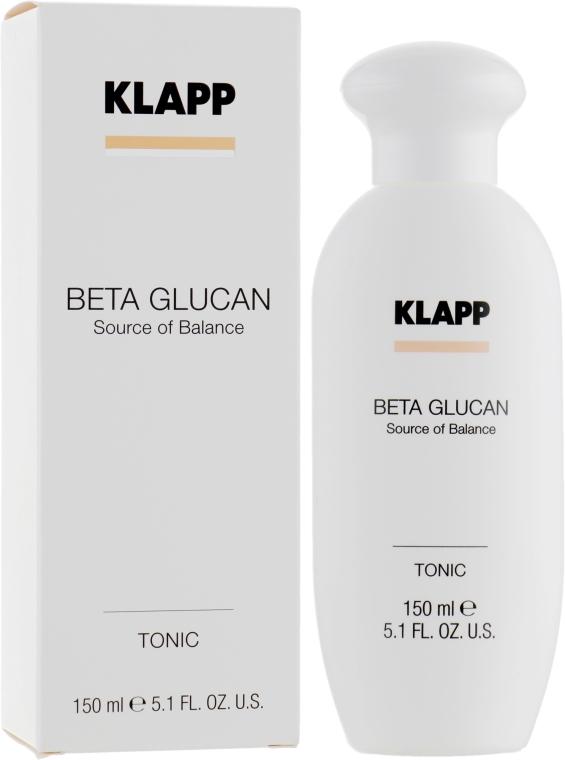 Тоник для чувствительной кожи лица - Klapp Beta Glucan Tonic