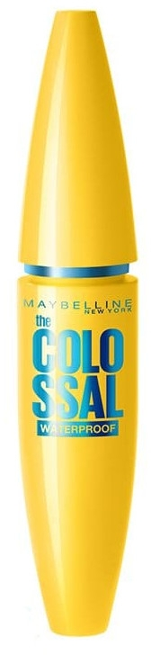 Тушь водостойкая - Maybelline New York Colossal Waterproof 100% Black