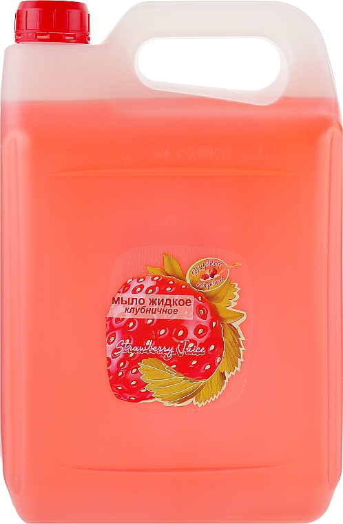 Жидкое мыло клубничное - Вкусные Секреты
