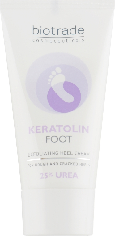 Крем для ног с 25 % мочевины - Biotrade Keratolin Foot Exfoliating Heel Cream — фото N3